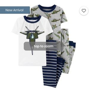 Boys Plane Pajama Set